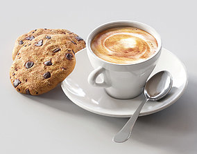 coffee food 3D model