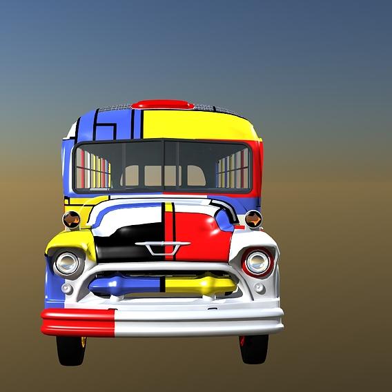 1970s TV Sitcom Bus