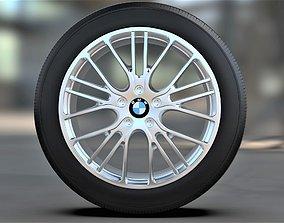 circuit 3D Car wheel