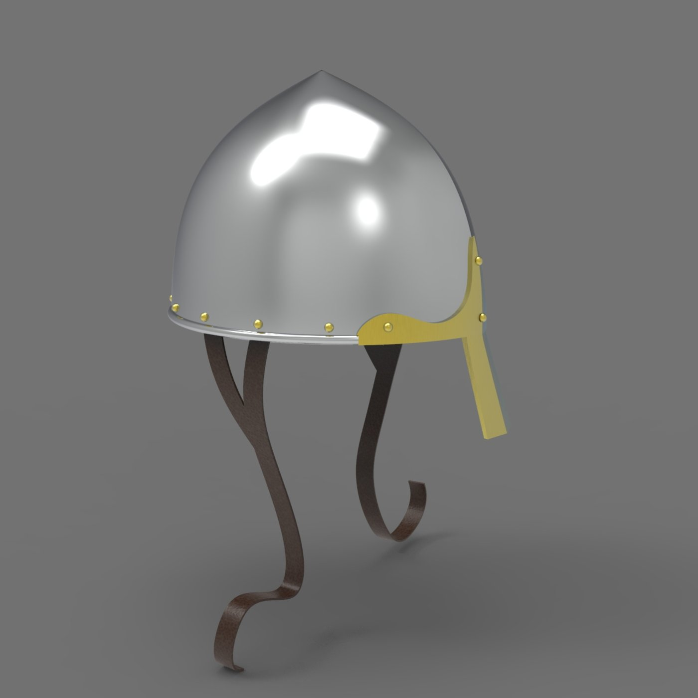 Norman Nasal Helmet Head Armour