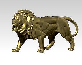 Lion Statue 3D print model lion