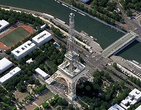 3D model Eiffel Tower France