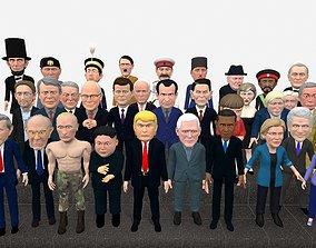 Politicians mega pack 3D model