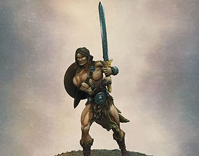 Barbarian Taros 35 and 54 mm - 3D print model