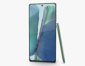Samsung Galaxy Note20 Mystic Green 3D model
