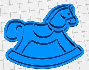 cookie cutter Horse stamp 3D printable model