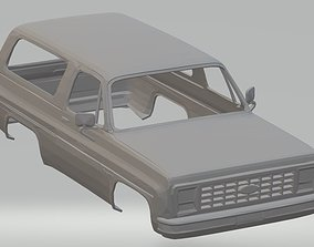 Bronco Printable Body Car