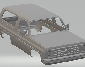 Bronco Printable Body Car