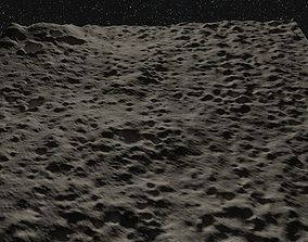 3D Realistic Moon Surface