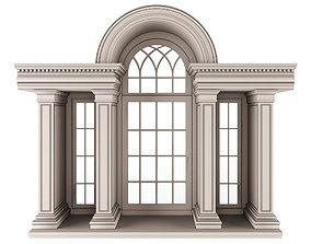 arc Classic Architecture Arch Window 3D