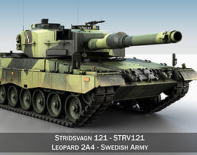 3D Stridsvagn 121 - Swedish Army