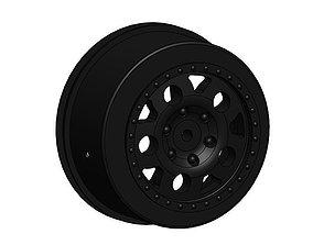 Team Associated SC10 Hex Wheel ASC9921 3D printable model