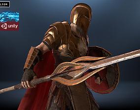 Warrior Hero 3D model