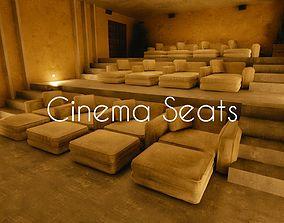 Luxury Cinema Seats 3D model