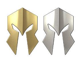 Simple Spartan pendant ornament 3D printable model