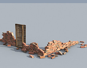 realtime Brick Debris Asset