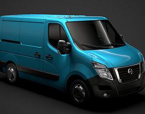 3D Nissan NV 400 L1H1 Van 2020