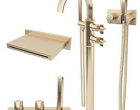 3D model Faucets Armani Roca Set 3