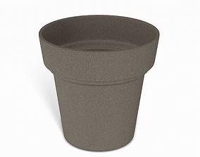 Brown Flower Pot 3D