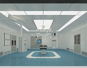 doctor Operating Room 3D