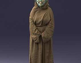 sculpture Woman Yoda 1101 3D Print Ready