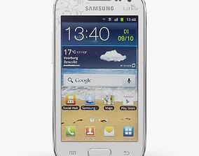 Samsung I8160 Galaxy Ace II La Fleur White 3D asset