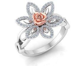 ring Rose RING1 3D printable model