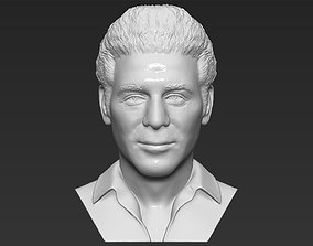 Cosmo Kramer from Seinfeld bust 3D printing ready stl