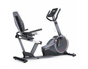 3D Horizontal exercise bike Hop-Sport HS-060L exercising