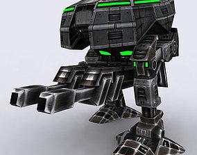 3D asset Mech walker