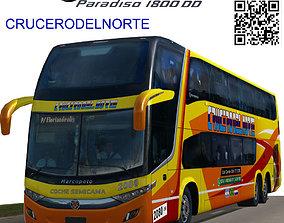 3D model Marcopolo Paradiso 1800DD CRUCERODELNORTE