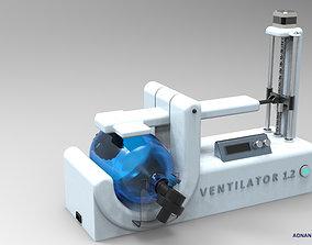 3D printable model COVID-19 VENTILATOR