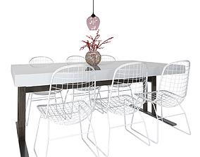 Dining Furnitures Set 56 3D