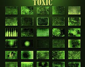 3D model Toxic texture pack