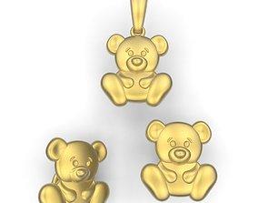 3 Bears 3D print model