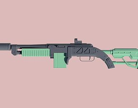 3D printable model Fallout - The Fixer - Rifle