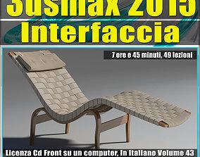 various-models 3ds max 2015 Interfaccia Vol 43 cd front