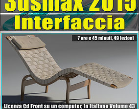 various-models 3ds max 2015 Interfaccia Vol 43 cd front