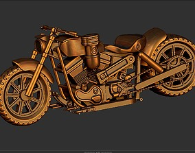 3D print model HARLEY BIG MOTORS