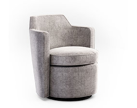 West Elm Adeline Swivel chair 3D