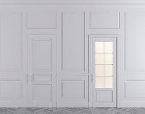 Decor Molding for Walls Doors 3D model