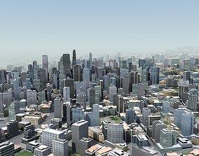 3D Modern City
