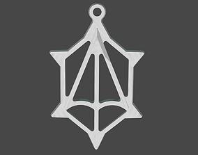 The silver pendant 3d print master model pendants