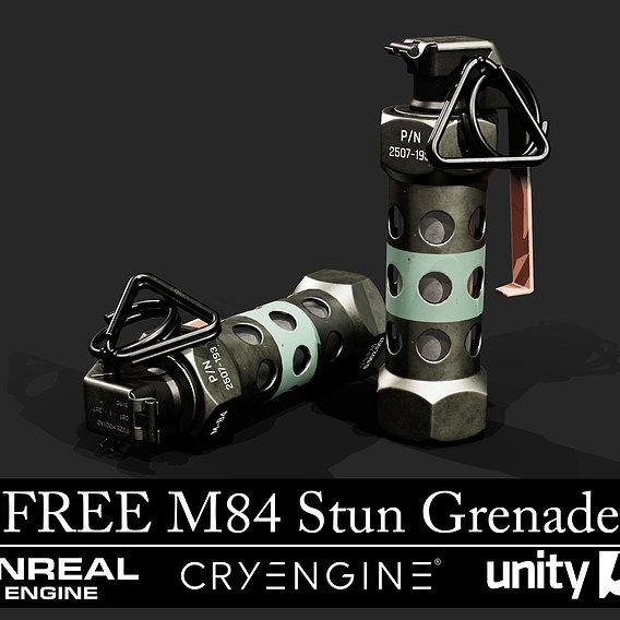 Free M84 Stun Grenade