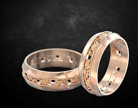 3D print model Rings for lovers 155