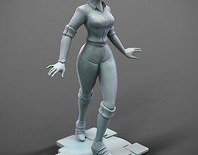 InfiniteLoop Main Character Teddy 3D printable model
