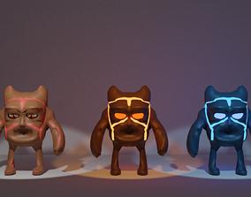 Elemental Monster 3D asset