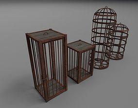 3D model Medieval cages PBR