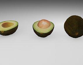 pbr Avocado 3D model realtime