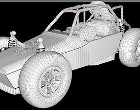 3D PUBG Buggy